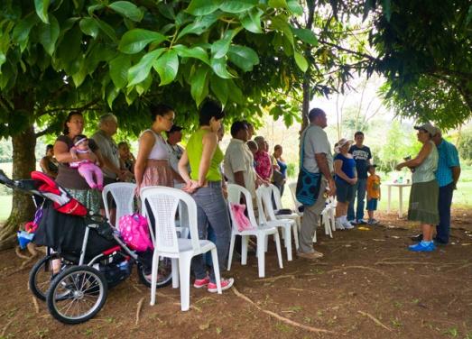 las lapas prayer service